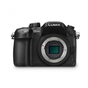 Afbeelding en informatie over Panasonic DMC-GH4 body