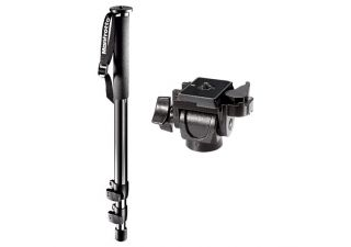 Afbeelding en informatie over Manfrotto 681B professional monopod incl. Manfrotto 234RC monopod head