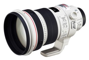 Afbeelding en informatie over Canon EF 200 mm f/2L IS USM